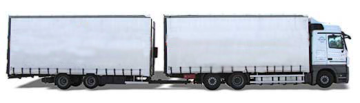 ARTICULATED LORRY (SEMI-TRAILER TRUCK, TANDEM)
