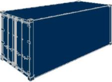Versions of containers 40` Refrigerated containers, increased
